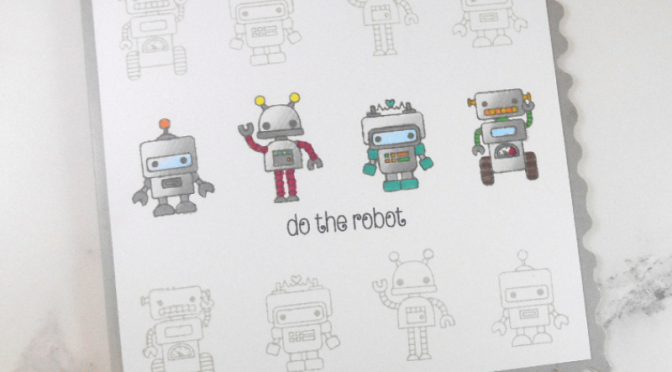 Robots and Flower Cards